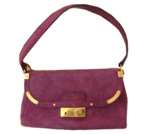 Purple PRADA purse