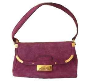 Purple PRADA purse