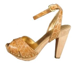 Prada crocodile sandals