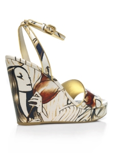 Prada  James Jean Fairy Shoes
