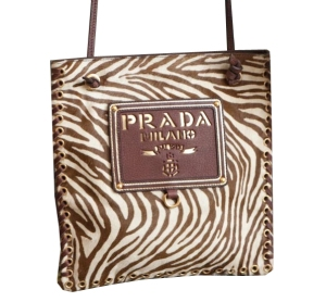 prada brown leather handbag - discontinued | Find your perfect PRADA