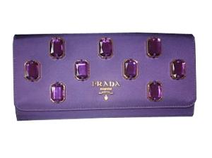 Prada Purple Wallet 2009
