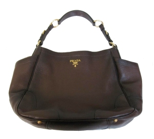 Brown Prada Tote Bag