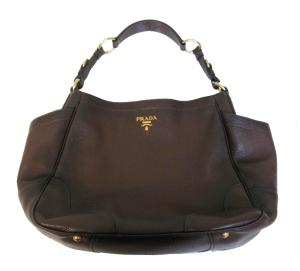 Brown Prada Tote Bag