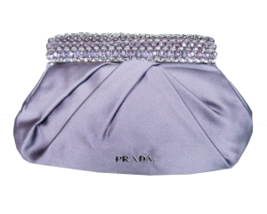 prada silk jeweled evening bag