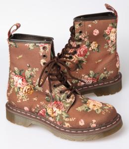 Dr. Martens Floral Boots