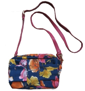 prada flower print bag
