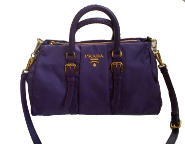 Prada Purple Purse